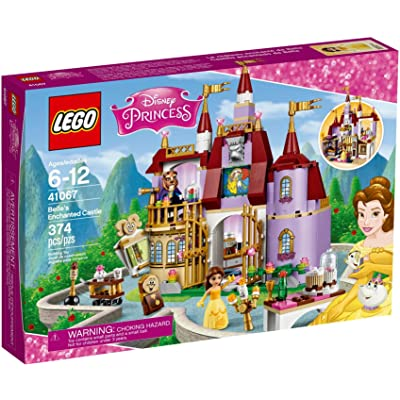LEGO l Disney Princess Belle's Enchanted Castle 41067 Disney Princess Toy: Toys & Games
