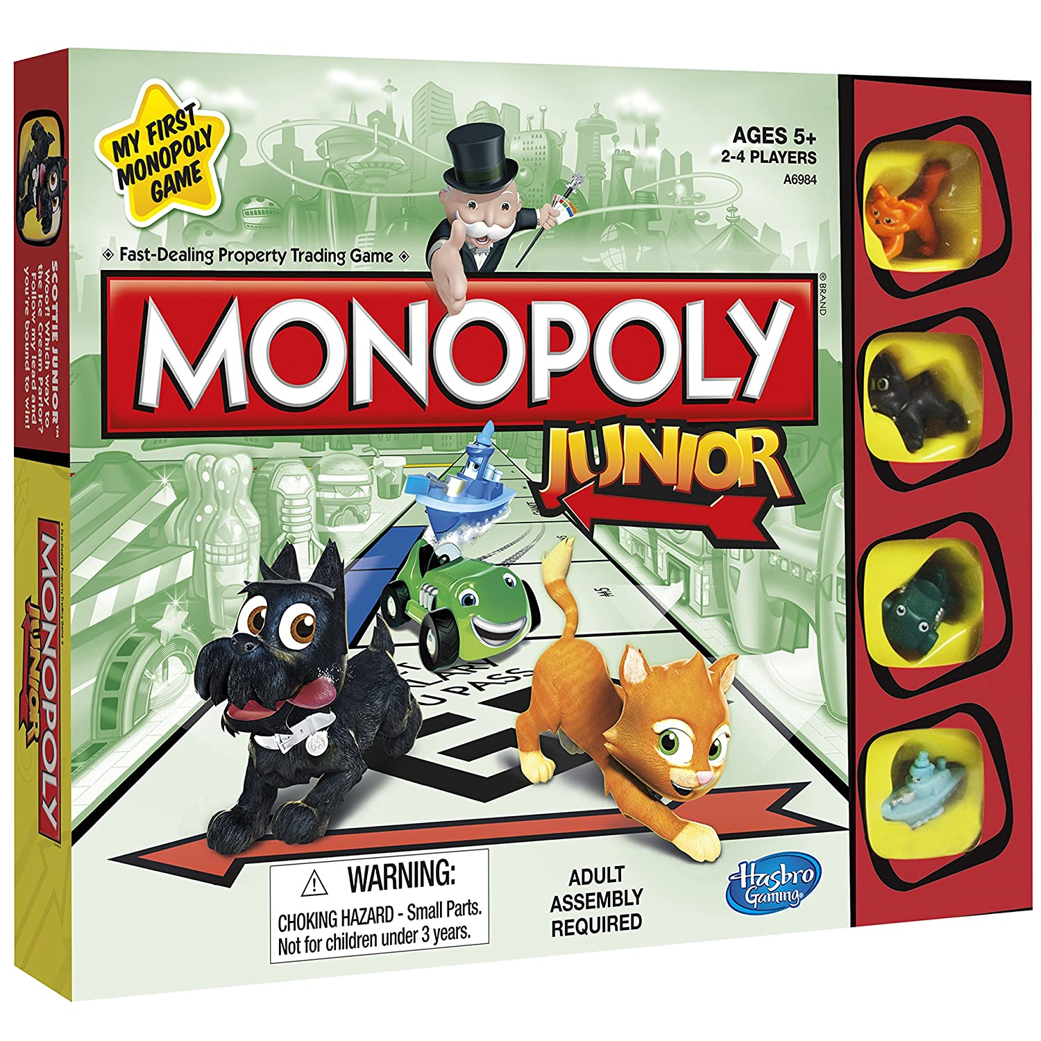 Monopoly Junior: A Kids Version of the Classic Family Game
