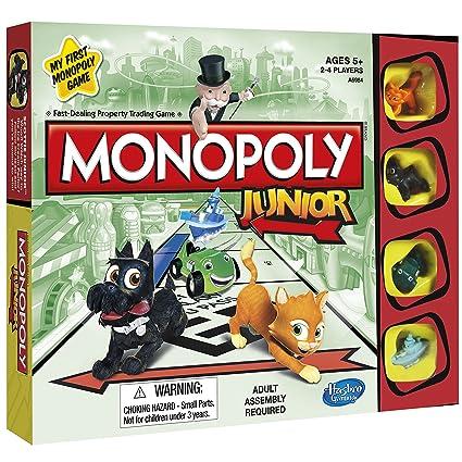 Hasbro Gaming Juego De Mesa Monopoly Junior Amazon Com Mx Juegos Y