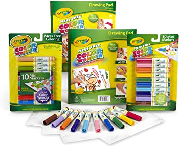 Crayola Color Wonder Set with Drawing Pads and Markers