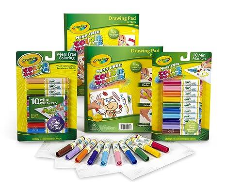 Amazon.com: Crayola Color Wonder Mess Free Coloring, No Mess Markers ...