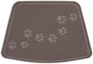 Petmate Arm & Hammer Wedge Shape Litter Mat with Paw Design