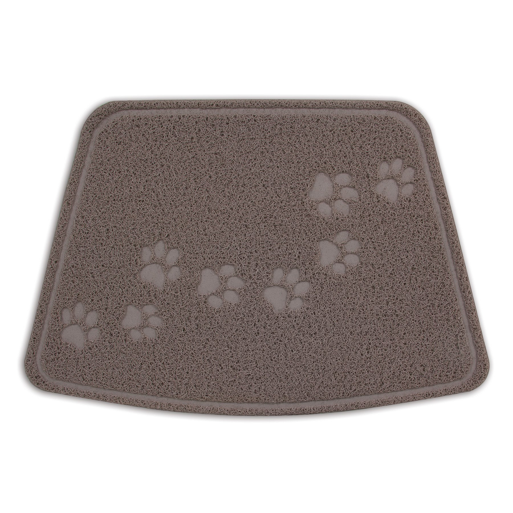 Petmate Arm & Hammer Wedge Shape Litter Mat with Paw Design by Petmate