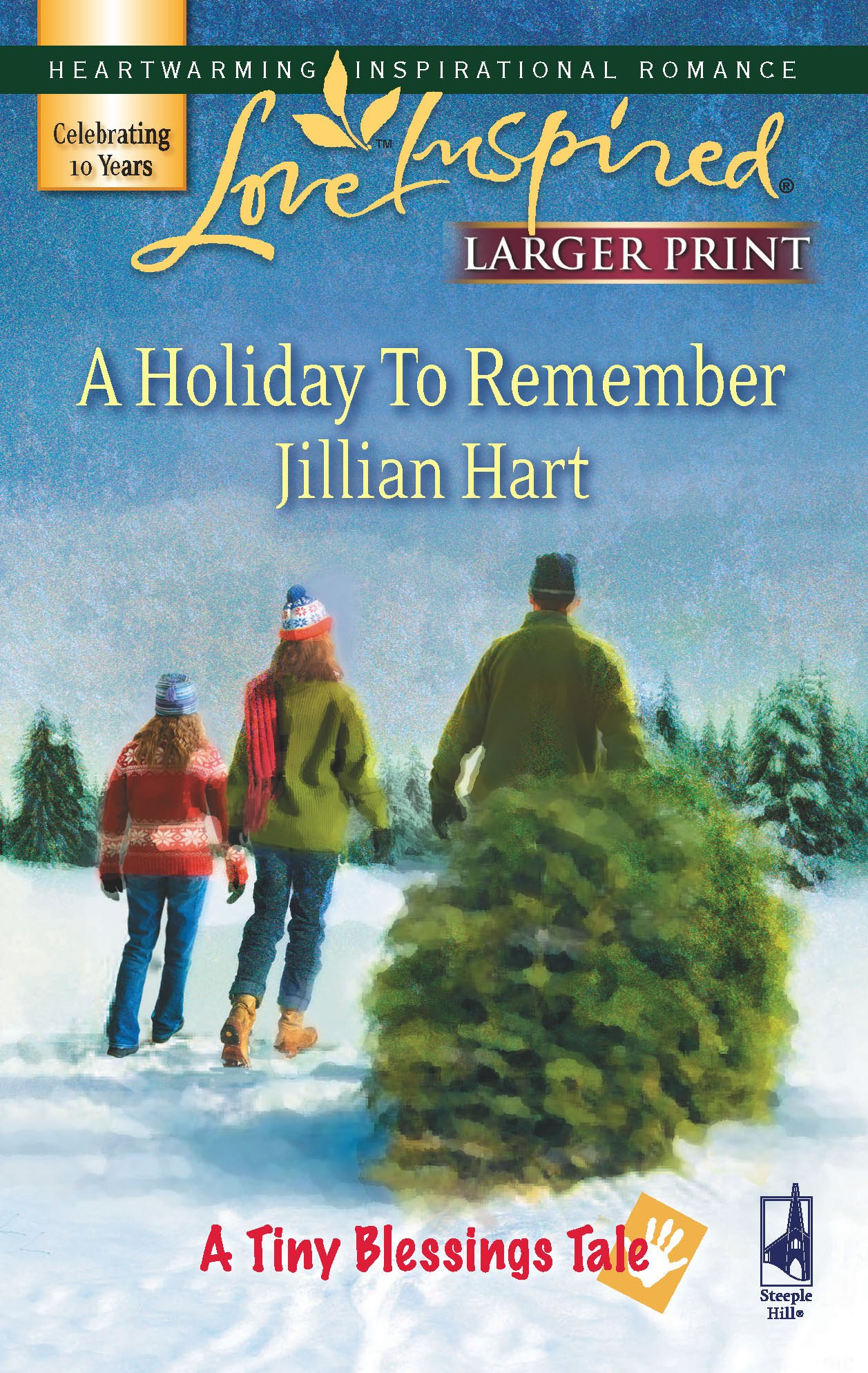 Download A Holiday to Remember (A Tiny Blessings Tale #6) (Larger Print Love Inspired #424) PDF