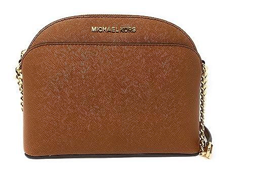 b8d626714685 Michael Kors Emmy Medium Leather Crossbody: Amazon.ca: Shoes & Handbags