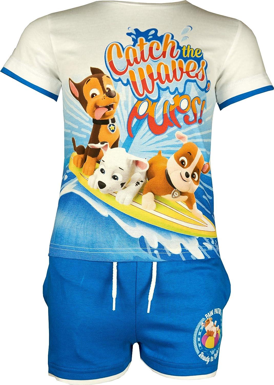 Paw Patrol Boys Short Sleeve T-Shirt /& Shorts Set