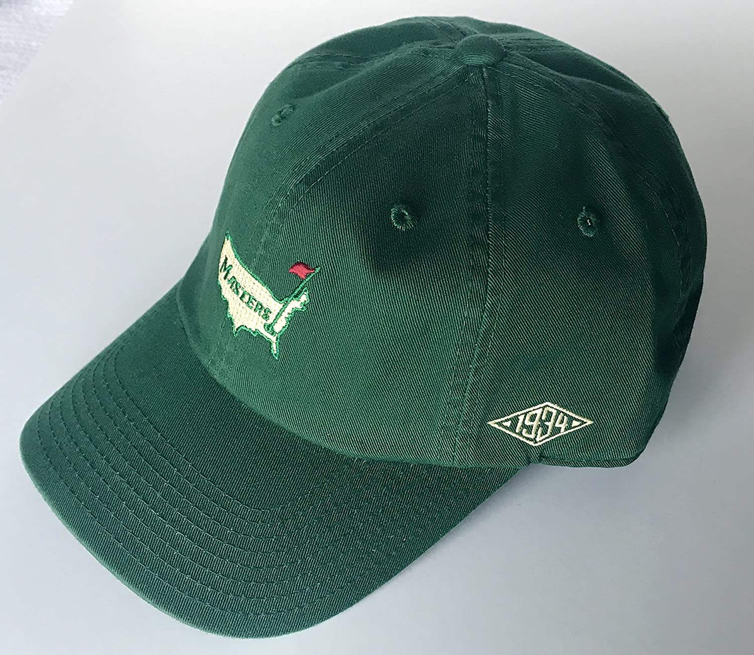 ace2b86fe86 Masters golf Hat Augusta National vintage logo green new 2019 pga at  Amazon s Sports Collectibles Store