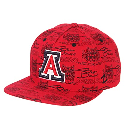596c1b43f2a Amazon.com   ZHATS NCAA Arizona Wildcats Men s Manic Snapback Hat ...