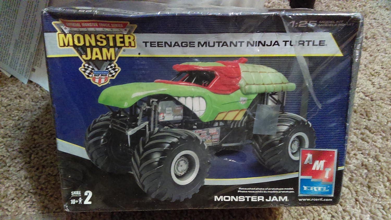 Teenage Mutant Ninja Turtles Monster Jam Truck 1:25 AMT ...