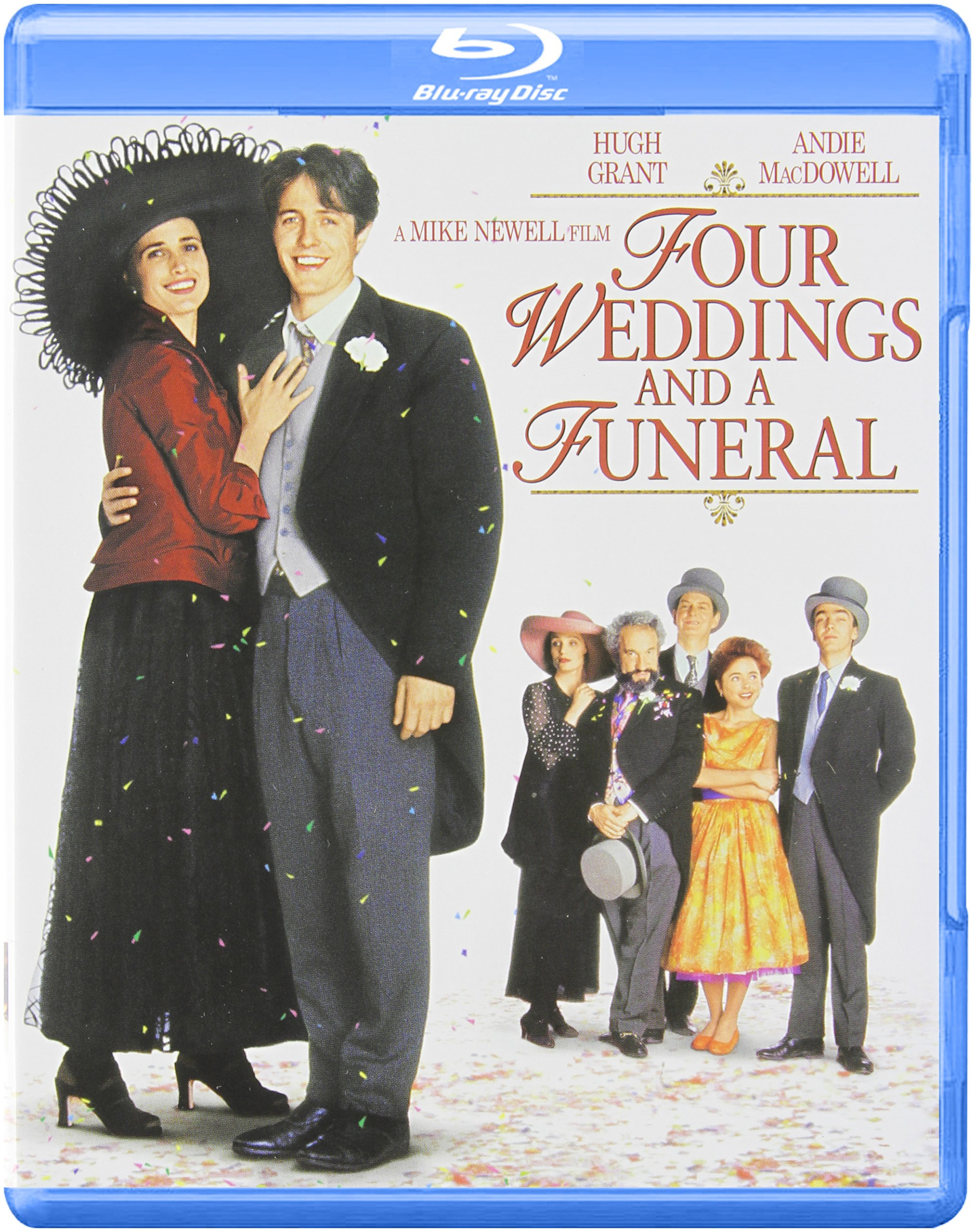 Blu-ray : Four Weddings and a Funeral (Full Frame)