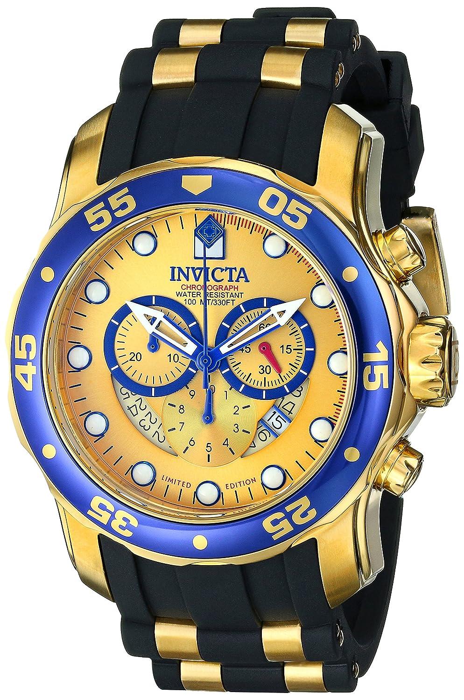 Invicta Men s ILE6983ASYB Pro Diver Analog Display Swiss Quartz Black Watch