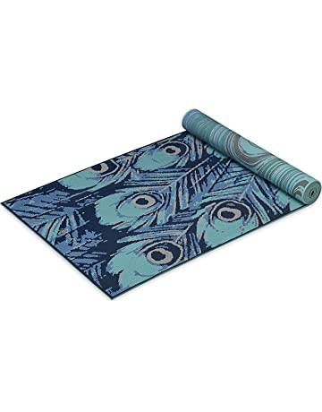 Gaiam Yoga Mat - Premium 6mm Print Reversible Extra Thick Exercise    Fitness Mat for All 2ade19ef569bd