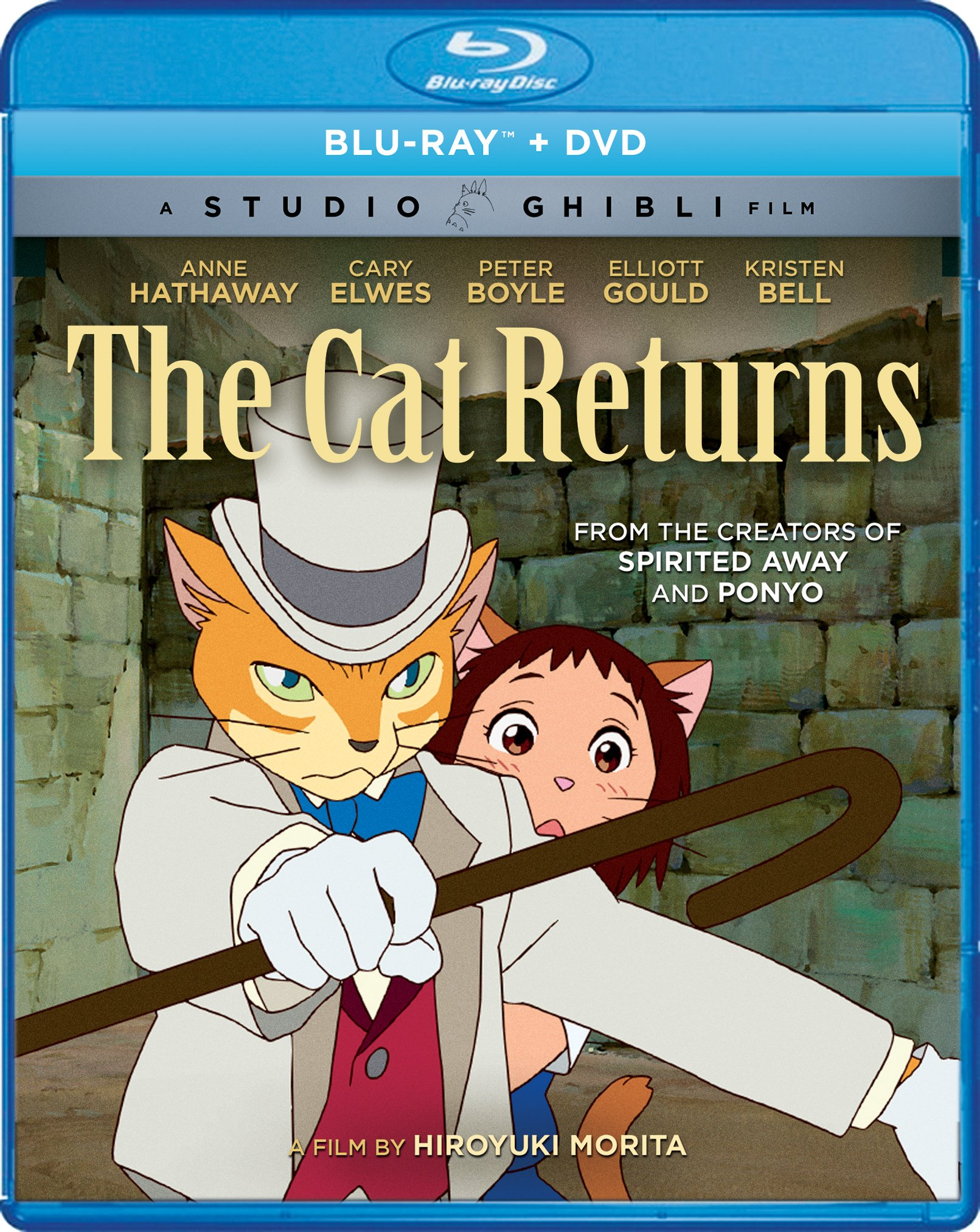 Blu-ray : The Cat Returns (Widescreen, 2 Disc)
