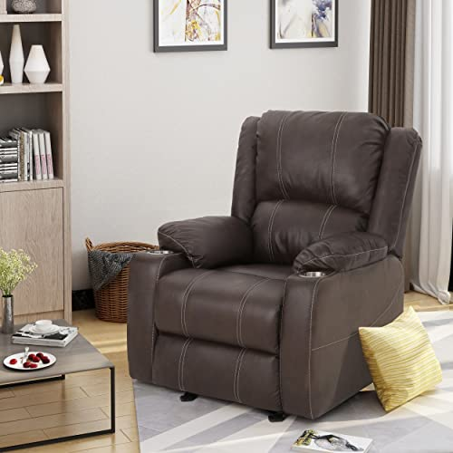 Christopher Knight Home Sophia Recliner, Dark Brown Black