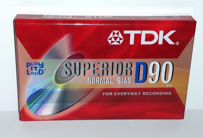 TDK Superior D90 Cassette Tape