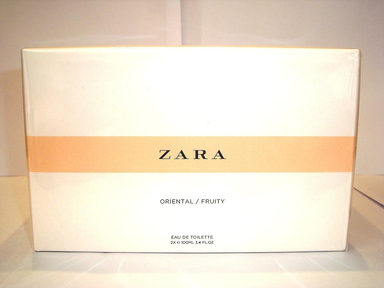 Amazoncom Zara Two Bottles Fruity Edt 100ml Oriental Eau De