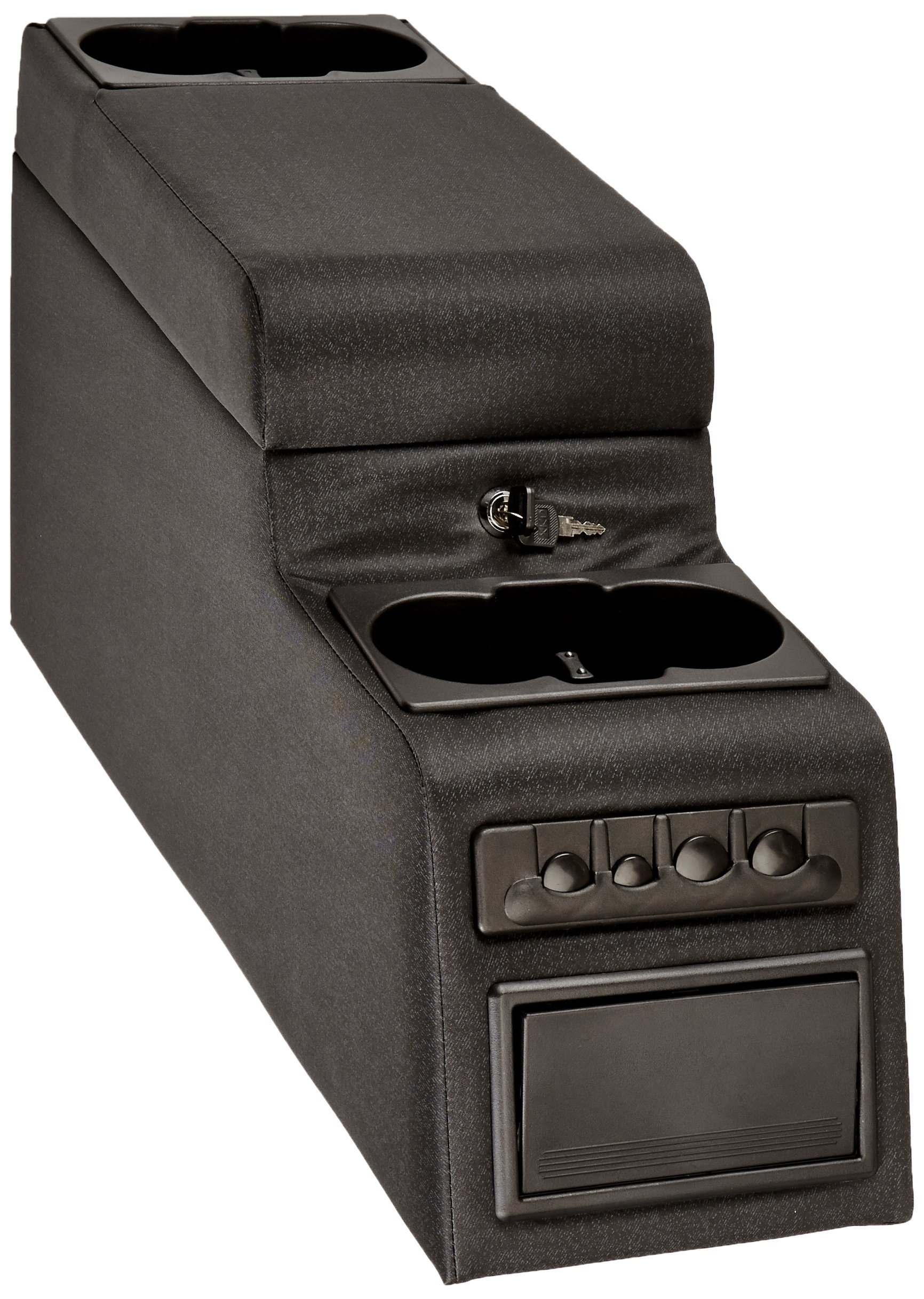 Vertically Driven Products VDP 31515 Black Locking Central Console