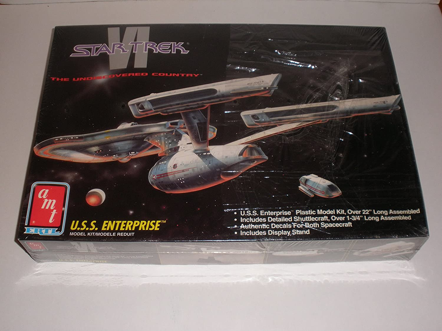 Star Trek The Undiscovered Country U.S.S. Enterprise Model Kit by AMT ERTL