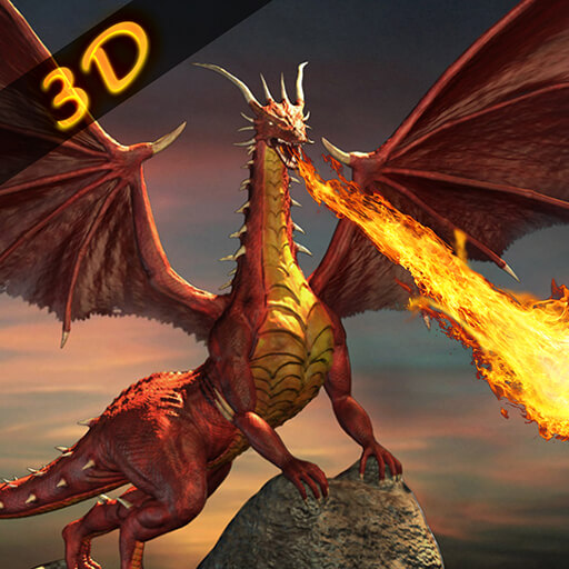 Epic Dragons - Grand Dragon Fire Simulator - Epic Battle 2018