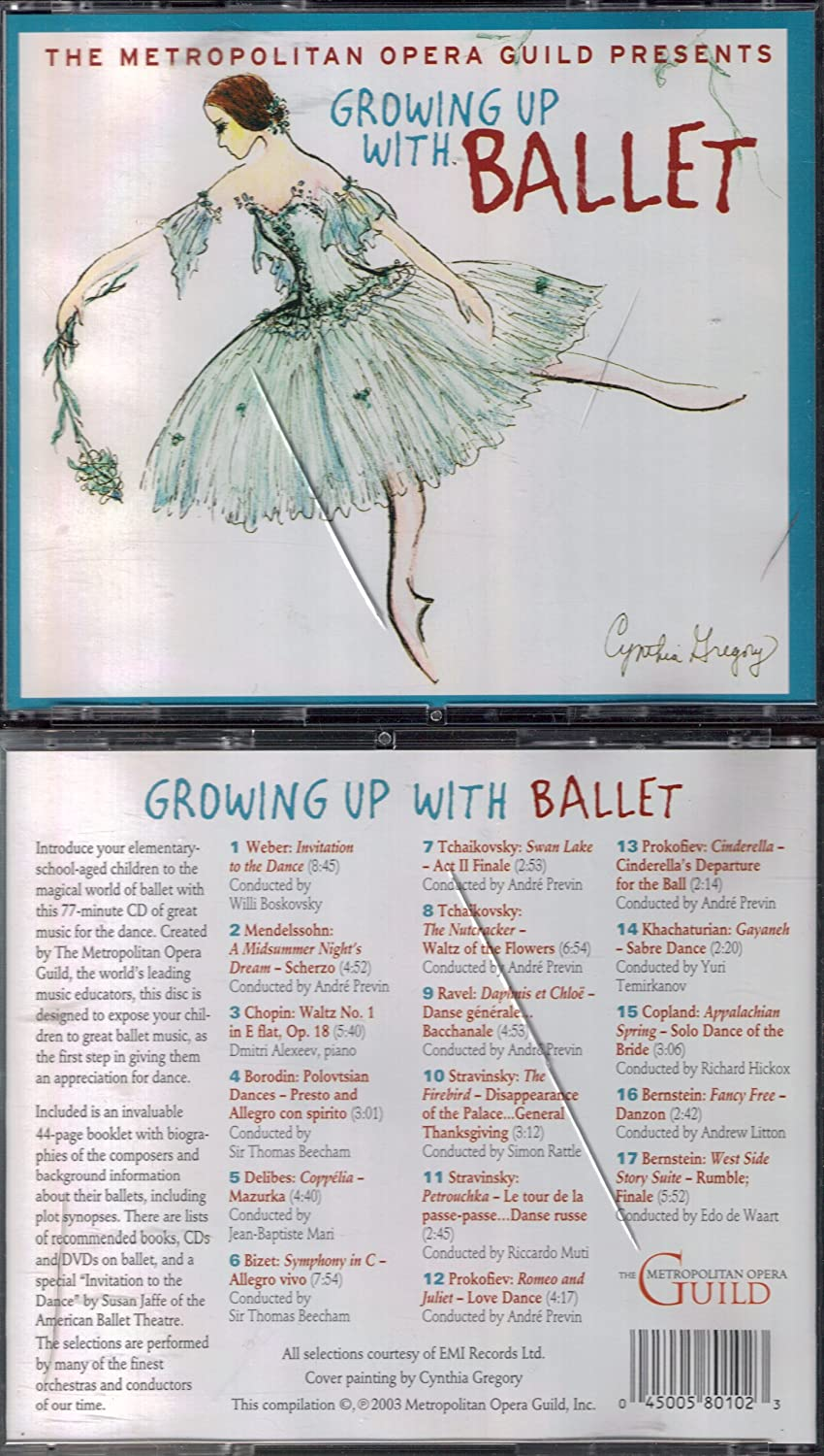 Growing Up At the price Limited price sale Ballet With