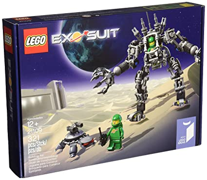 Amazoncom Lego Ideas Exo Suit 21109 Toys Games