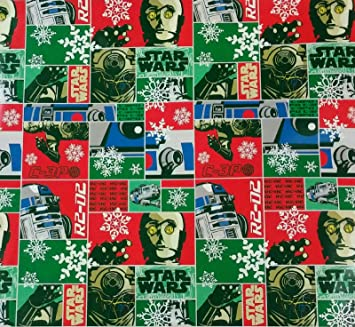 walmart star wars wrapping paper