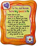 Blue Mountain Arts You're Very Special to Me by Collin McCarty Sculpted Resin Magnet (MR902)