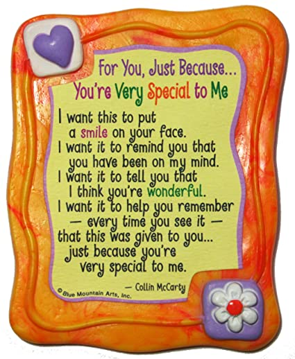 Amazoncom Sculpted Magnet Youre Very Special To Me 30 X 35