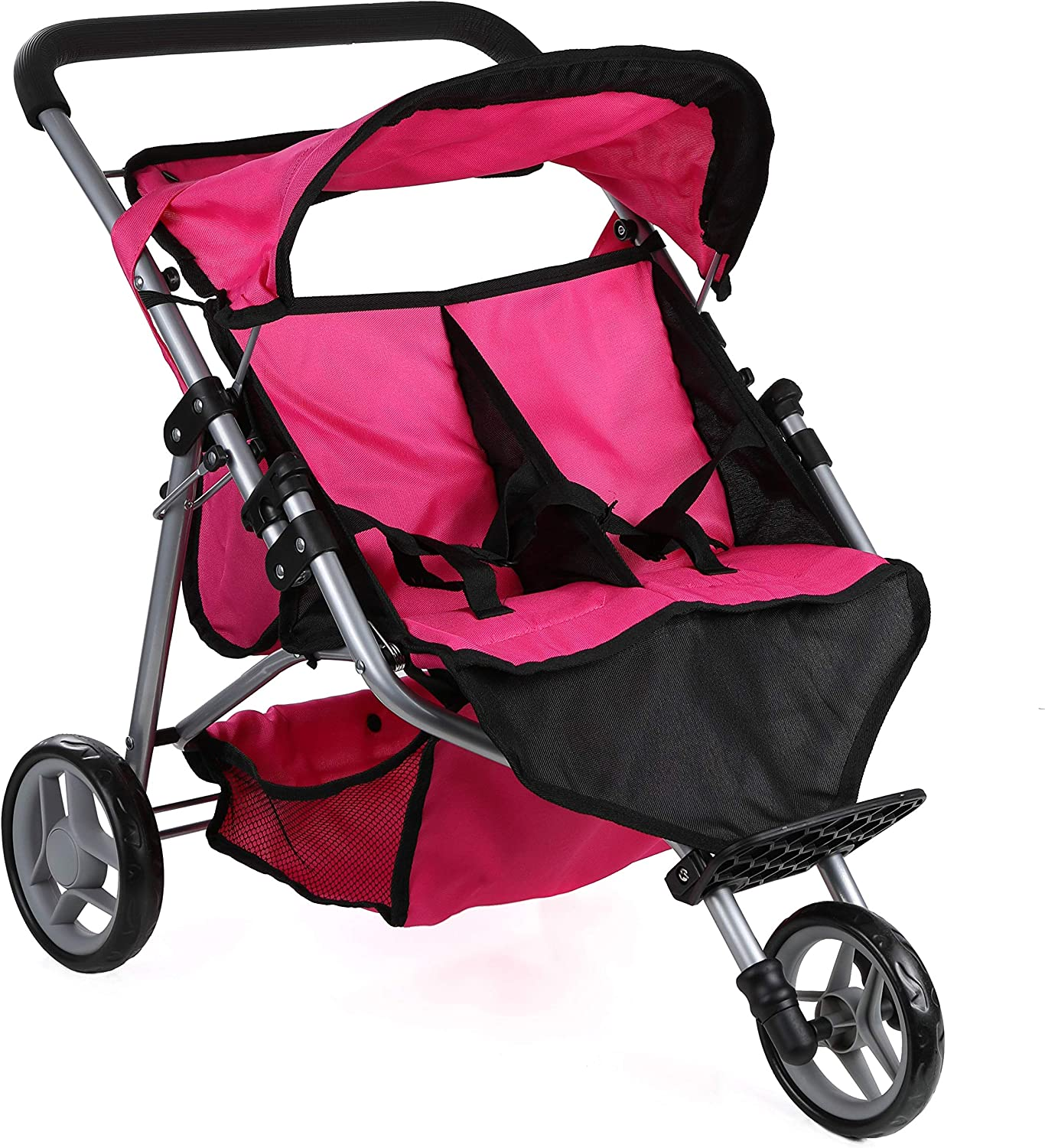 Mommy & Me Twin Doll Jogger 9367B with Free Sports Bag