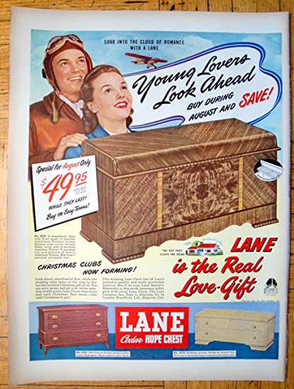 Amazon Com 1948 Lane Cedar Hope Chest Aviator Sale 49 95