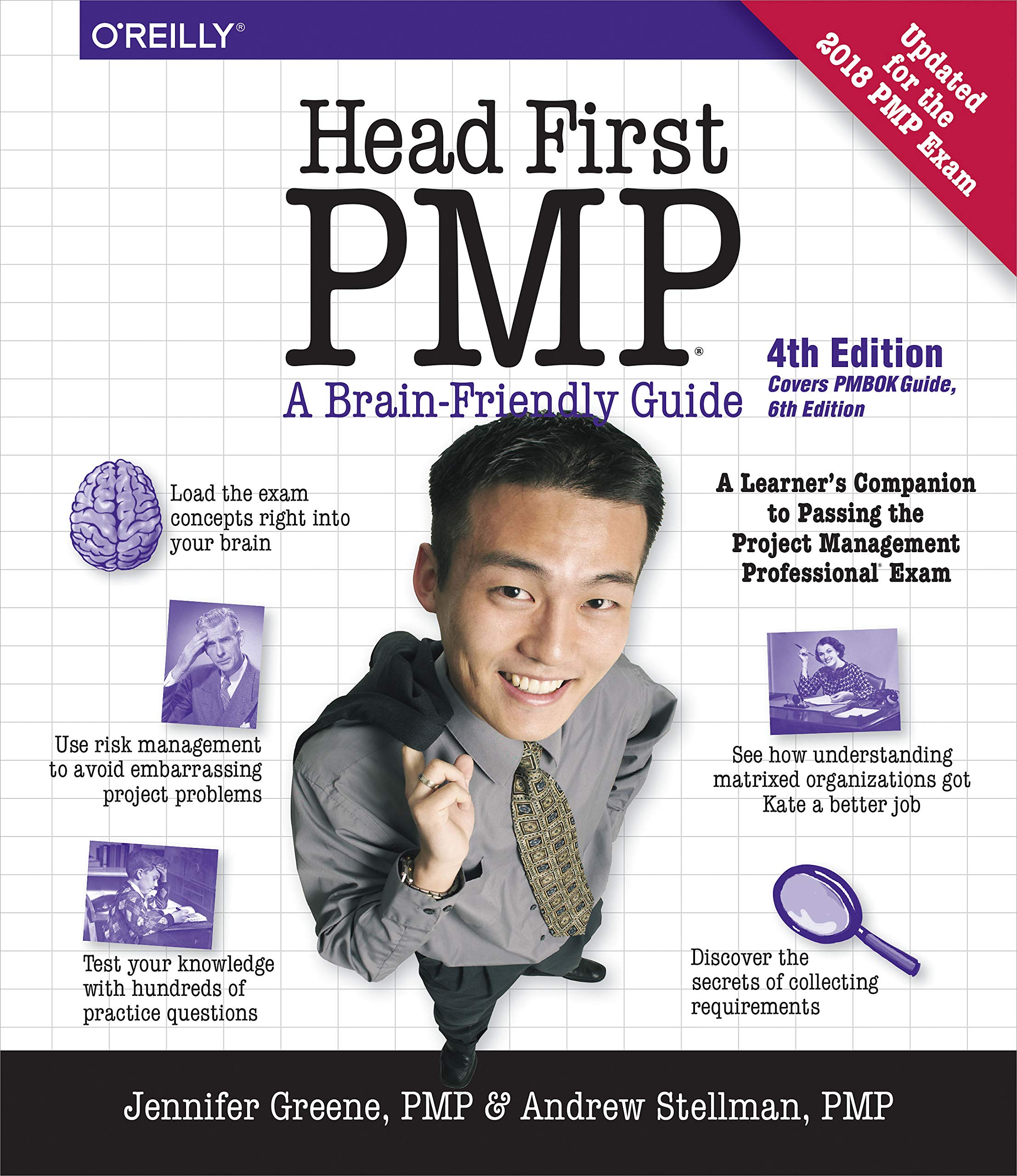 Head First PMP: A Learner's Companion to Passing the Project Management  Professional Exam: Jennifer Greene, Andrew Stellman: 9781492029649: Books -  Amazon. ...
