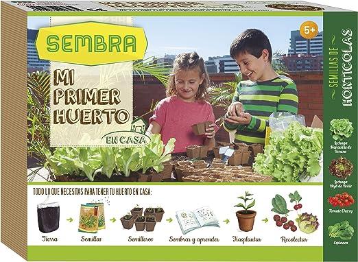 Sembra - Mi primer huerto de hortícolas, juego educativo (8707): Amazon.es: Jardín