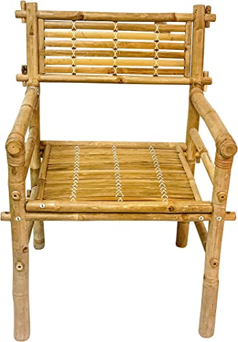 MGP Solid Bamboo Arm Chair Set of 2