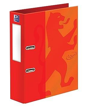 Oxford Touch A4 + 70 mm capacidad naranja - Archivador de palanca: Amazon.es: Oficina y papelería