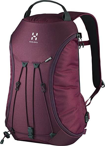 Amazon Com Haglofs Corker Large Laptop Backpack One Size Aubergine Sports Outdoors