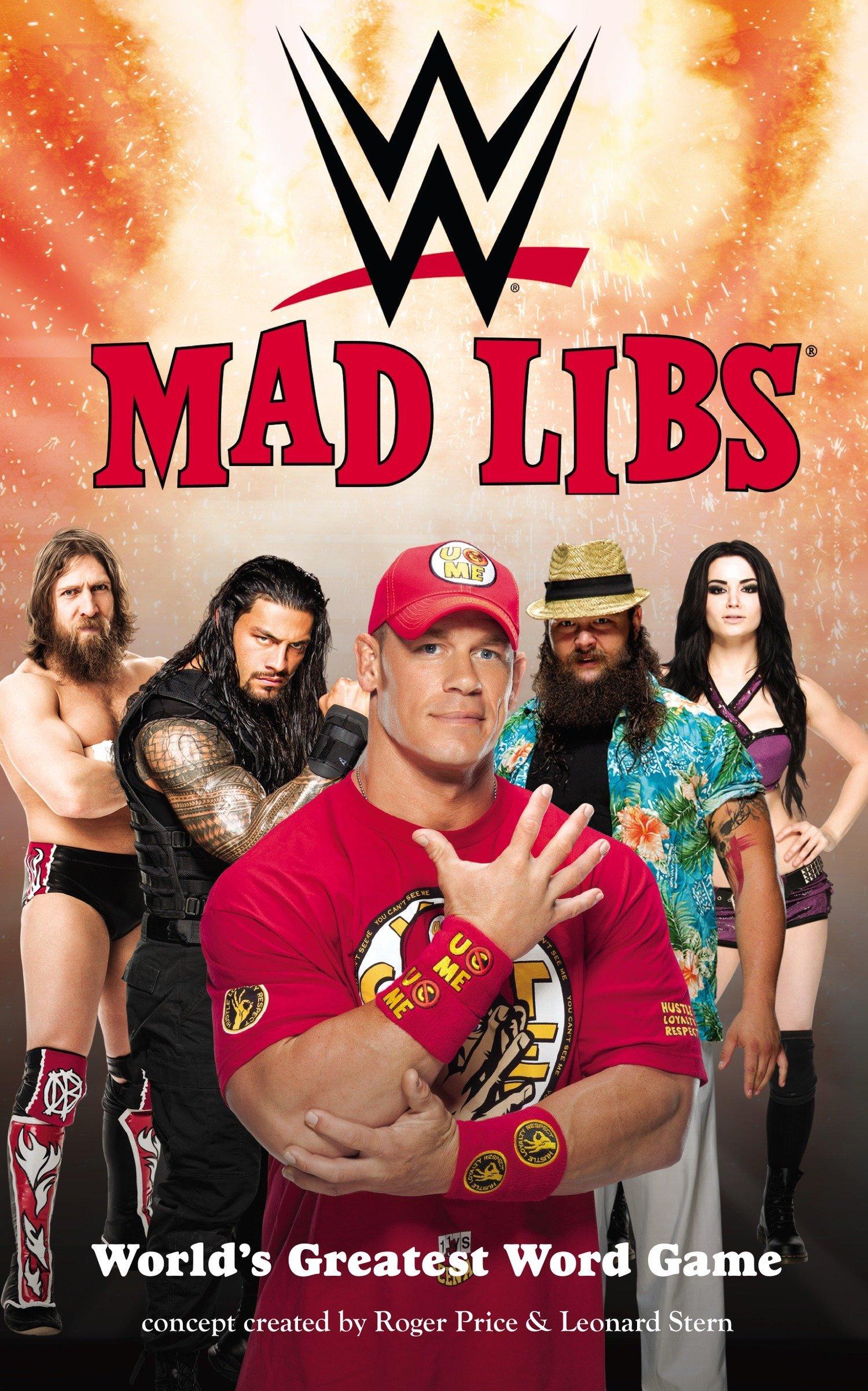 Read Online WWE Mad Libs pdf