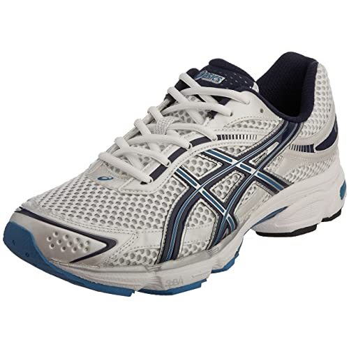 ASICS, Bianco WhiteBlackPrince Blue: Amazon.it: Scarpe e borse