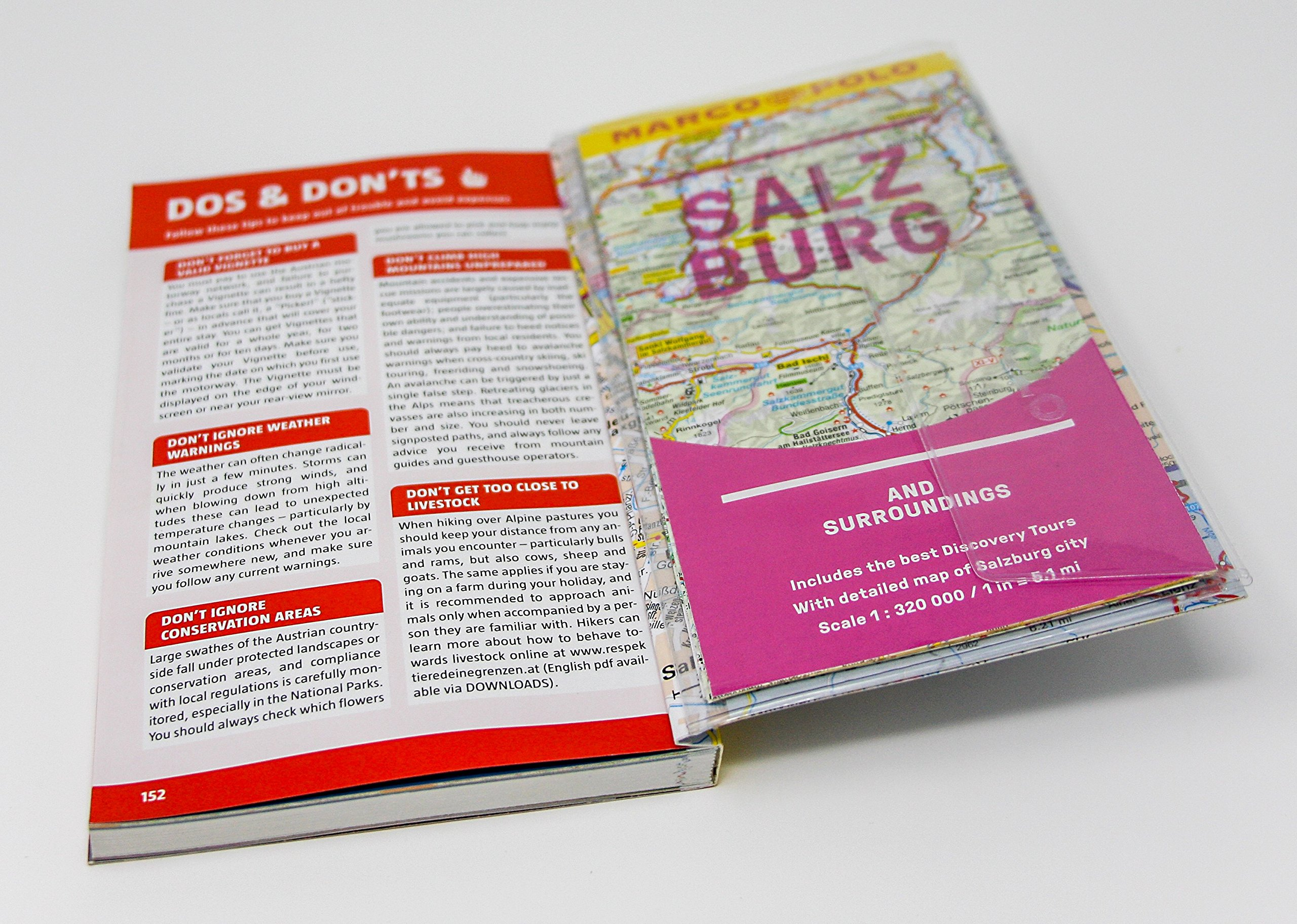 Salzburg and Surroundings Marco Polo Pocket Guide 2018 - with pull ...