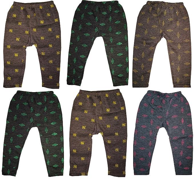 1803335b562 KIFAYATI BAZAR Boy s and Girl s Woollen Pyjama -Pack of 6 (Multicolour)   Amazon.in  Clothing   Accessories