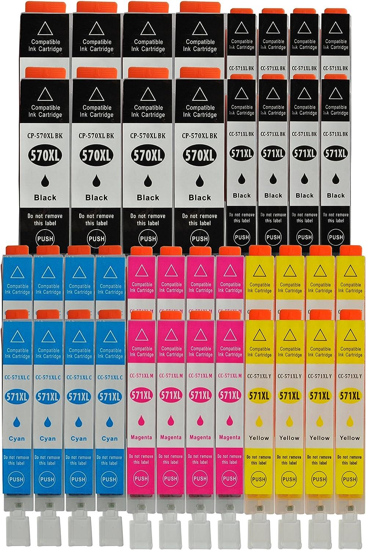 3color® - Cartuchos de tinta con chip para impresoras Canon PIXMA ...