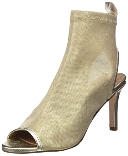 PEDRO MIRALLES 18631, Sandales Bout Ouvert Femme, Or (Oro), 40 EU