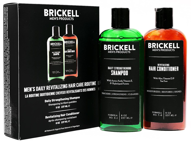 Amazon Com Brickell Men S Daily Revitalizing Hair Care Routine