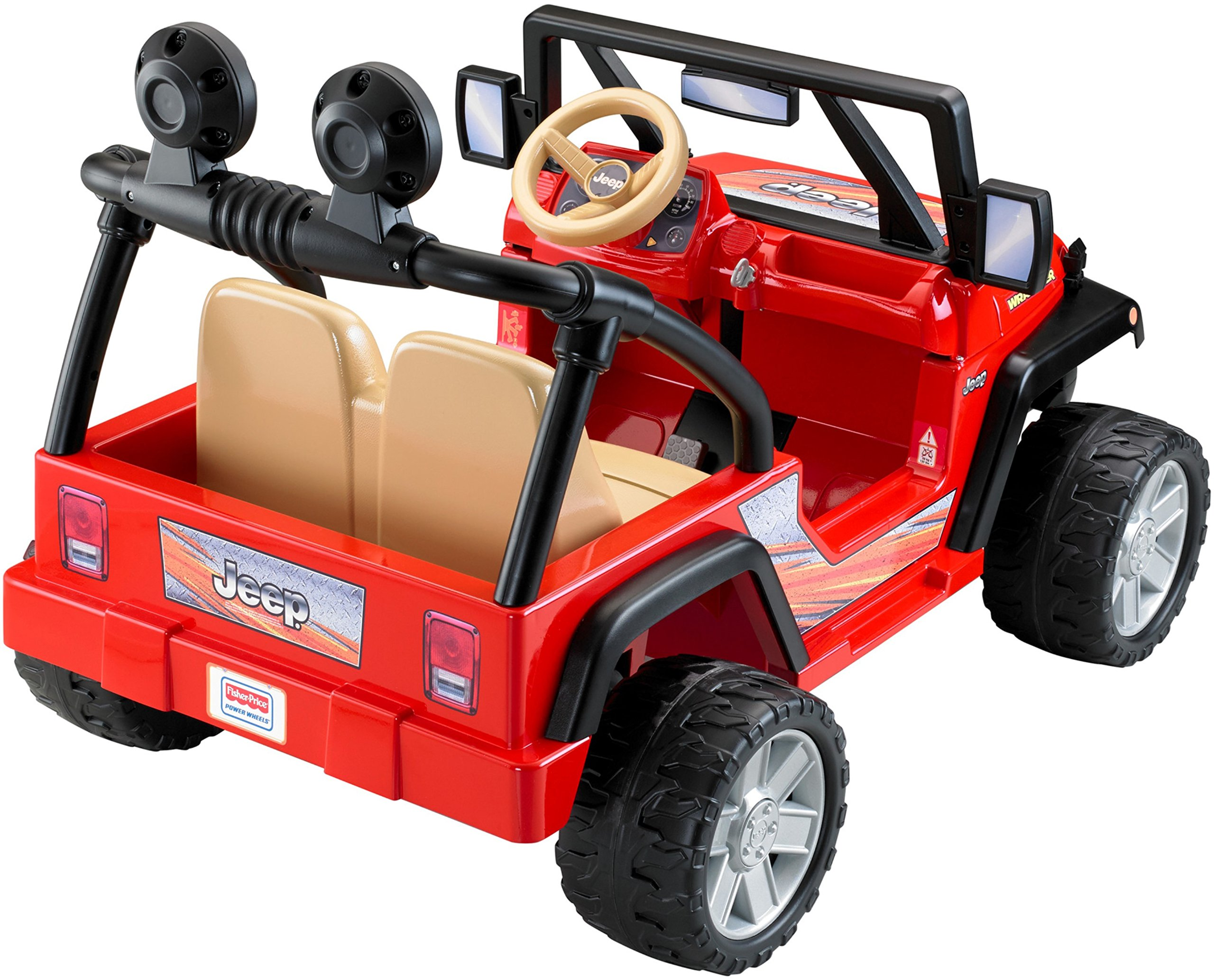 Power Wheels Jeep Wrangler, Red by Fisher-Price (Image #7)