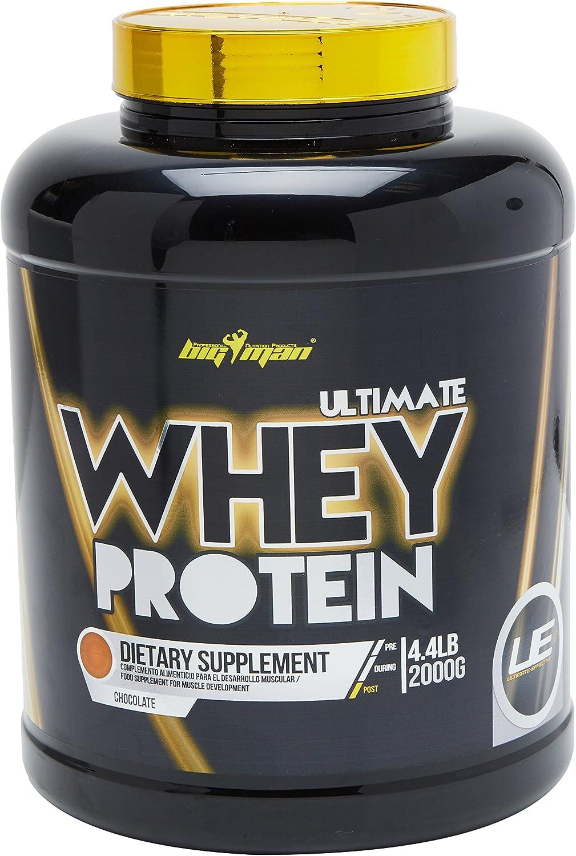 Big Man Nutrition Ultimate Whey Proteína Compuesta, Chocolate - 2000 gr