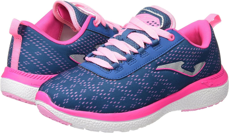 Joma C.KNITRO Lady 603 Marino-Rosa - Zapatos Polideportivas al ...