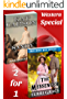 Mail Order Bride: The Messenger and Sandy -2-for-1 Special: Inspiration Historical Western Romance  (American Mail Order Bride)