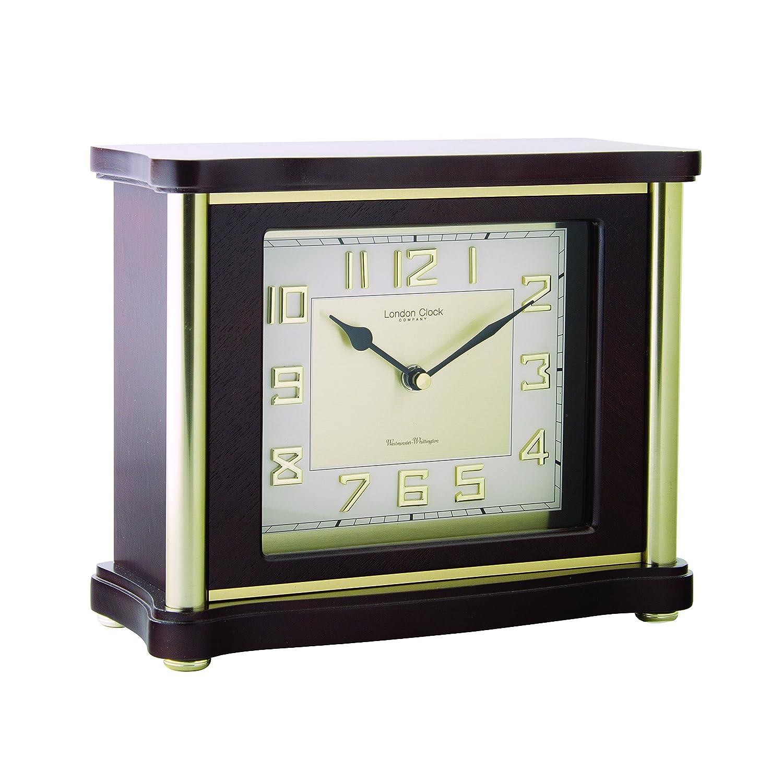 London Clock - Flat Top Mantel Clock London Clock Co