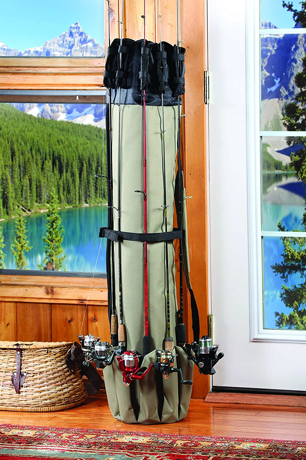 Top 5 must have ice fishing rod case for every angler for Fishing rod case