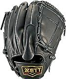 ZETT(ゼット) 野球 硬式 ピッチャー グラブ(グローブ) プロステイタス (右投げ用) BPROG41 ブラック