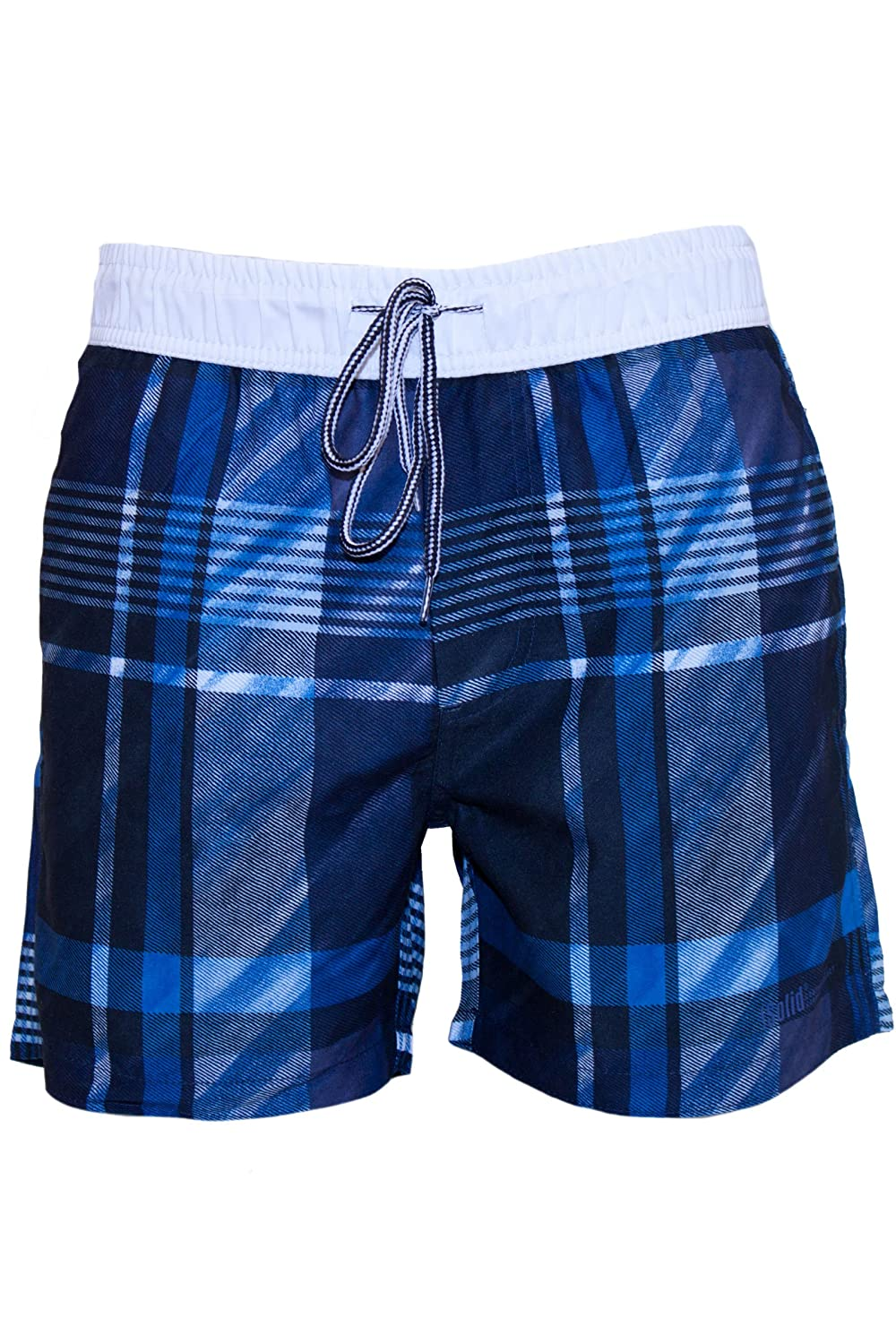 !Solid Men's Swimming Shorts